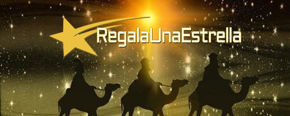 Regala Una Estrella el dia de Reyes.
