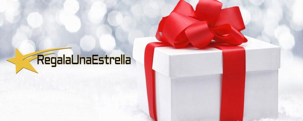El mejor regalo de navidad es regalar una estrella
