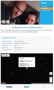 Star Page Registra una estrella